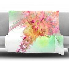 "Lily by Alison Coxon 40"" Fleece Throw Blanket"