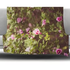 Lush by Ann Barnes Fleece Throw Blanket