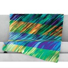 Set Stripes II Fleece Throw Blanket