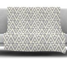 Geo Tribal by Amanda Lane Fleece Throw Blanket