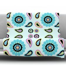 Paisley Candy Throw Blanket