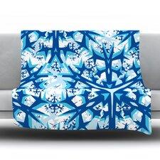 Winter Mountains Throw Blanket