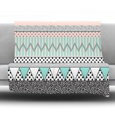 Chevron Motif Throw Blanket