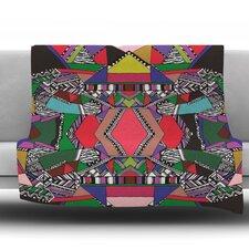 African Motif Throw Blanket