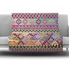 Tribal Native Fleece Throw Blanket