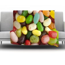 I Want Jelly Beans Throw Blanket