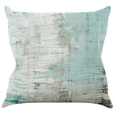 Bluish by Iris Lehnhardt Throw Pillow