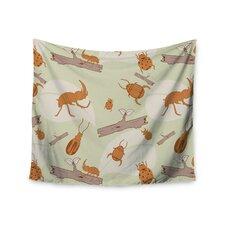 Beetles by Stephanie Vaeth Tapestry