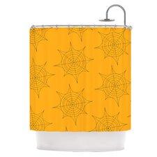 Spiderwebs Shower Curtain