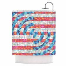 Abstract America Shower Curtain