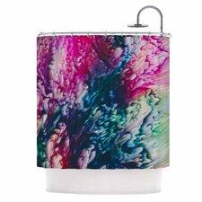 Splash Abstract Ink Shower Curtain