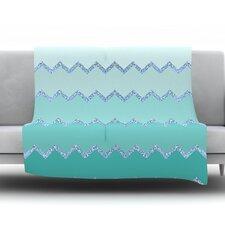 Avalon Ombre by Monika Strigel Fleece Throw Blanket