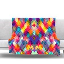 Squares Everywhere by Danny Ivan Fleece Blanket