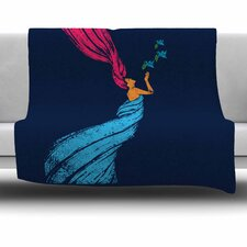 Peace Fleece Throw Blanket