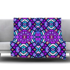Kaleidoscope Dream Continued by Art Love Passion Fleece Throw Blanket