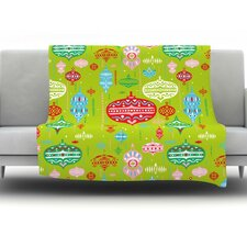 Ornate by Miranda Mol Fleece Throw Blanket