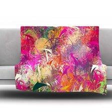 Splash by Danny Ivan Fleece Throw Blanket