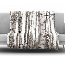 Birchwood Fleece Throw Blanket