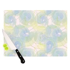 Paper Flower Cutting Board