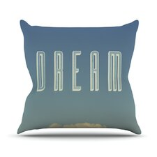 Dream Print Throw Pillow