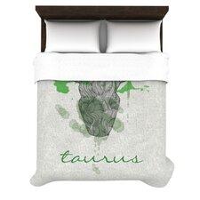 Taurus by Belinda Gillies Woven Duvet Cover
