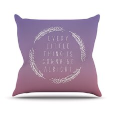 Little Thing by Galaxy Eyes Throw Pillow