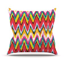 Painted Chevron by Aimee St. Hill Throw Pillow