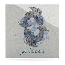 Pisces by Belinda Gillies Graphic Art Plaque