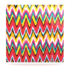 Painted Chevron by Aimee St Hill Graphic Art Plaque