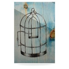 Bird Cage by Brittany Guarino Graphic Art Plaque