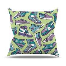 Sneaker Lover IV Throw Pillow