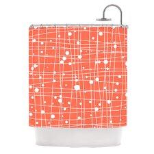 Woven Web I Shower Curtain