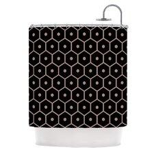Tiled Mono Shower Curtain