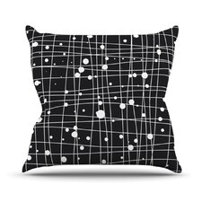 Woven Web Outdoor Throw Pillow