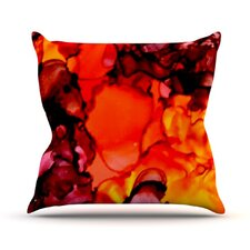 Mordor by Claire Day Throw Pillow