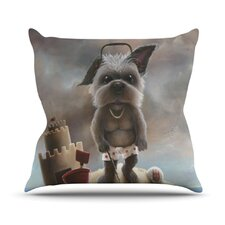 Grover by Graham Curran Throw Pillow