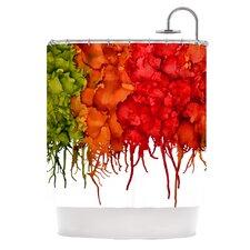 Fall Splatter Shower Curtain