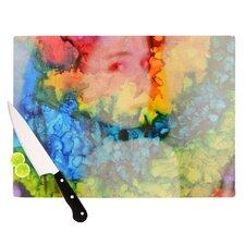 Rainbow Splatter Cutting Board