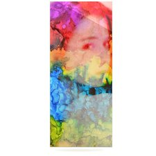 Rainbow Splatter by Claire Day Graphic Art Plaque