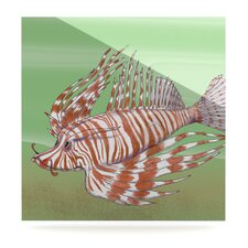 Fish Manchu by Catherine Holcombe Graphic Art Plaque