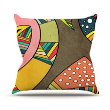 Cosmic Aztec Throw Pillow