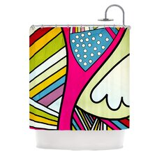 Fake Colors Shower Curtain