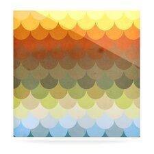 Half Circles Waves by Danny Ivan Graphic Art Plaque