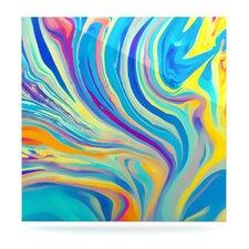 Rainbow Swirl by Ingrid Beddoes Graphic Art Plaque