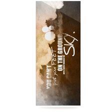 Touch The Sky Graphic Art Plaque