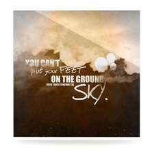 Touch The Sky by Original Graphic Art Plaque
