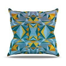 Abstraction by Nika Martinez Throw Pillow