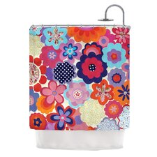 Patchwork Flowers Shower Curtain