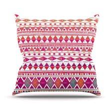 Summer Breeze by Nika Martinez Throw Pillow