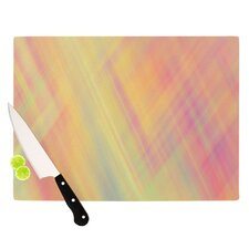 Pastel Abstract Cutting Board